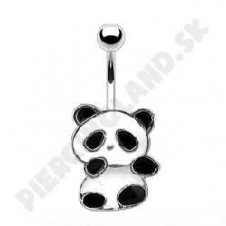 Piercing do pupka - panda