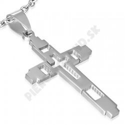 Prívesok z chirurgickej ocele - kríž