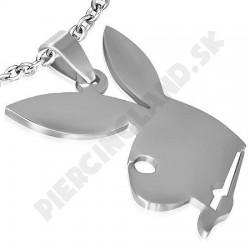 Prívesok z chirurgickej ocele - zajačik